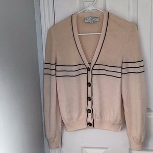 St John collection knit cardigan. Size small
